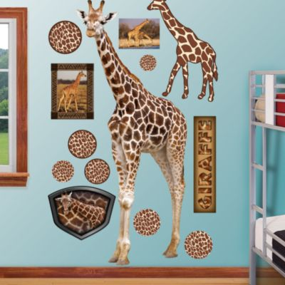 Giraffe Fathead Wall Decal
