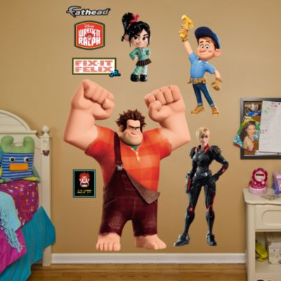Wreck-It Ralph Collection Fathead Wall Decal
