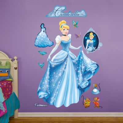 Cinderella - From Rags to Riches Fathead Wall Decal