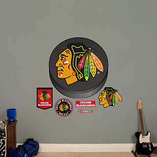 Chicago Blackhawks Puck Logo