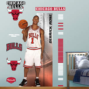 Derrick Rose Growth Chart