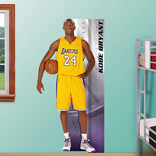 Kobe Bryant Growth Chart