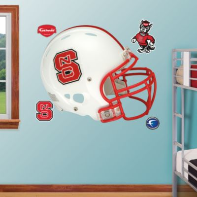 Rider U Broncs Logo Fathead Wall Decal