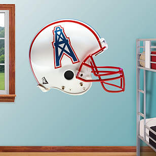 Houston Oilers Throwback Helmet