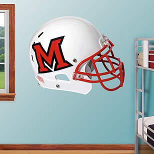 Miami RedHawks Helmet