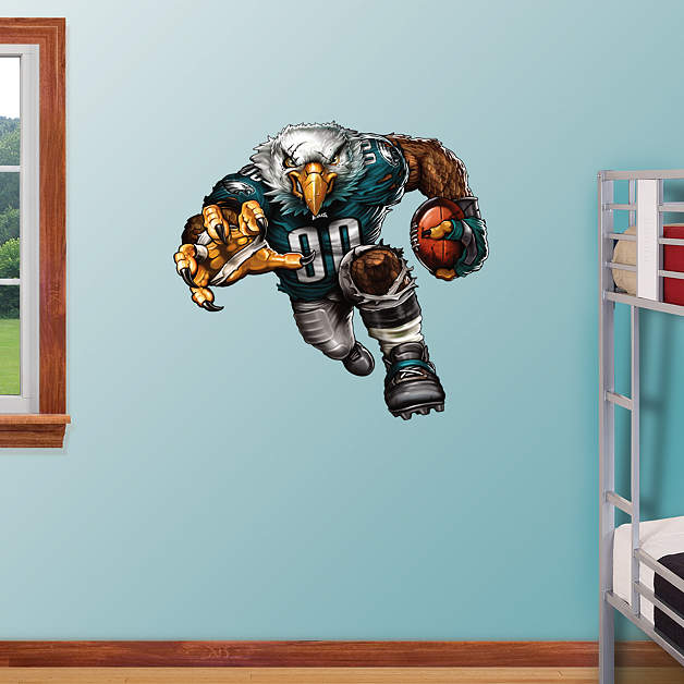 Extreme eagle fathead wall decal for Eagle wall mural