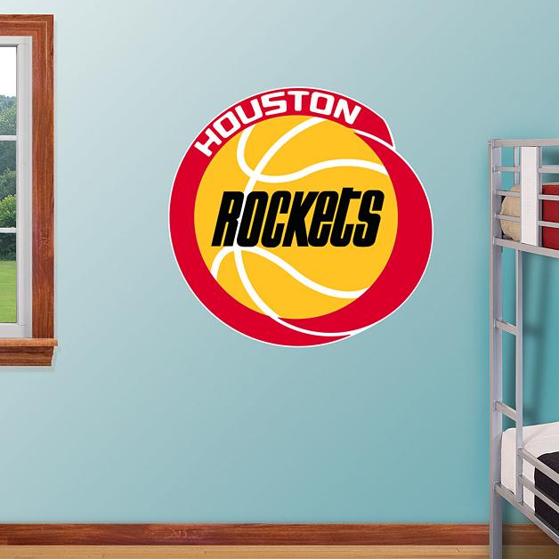Houston Rockets Classic Logo Wall Decal