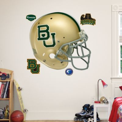 Boise State Broncos White Helmet Teammate Fathead Decal