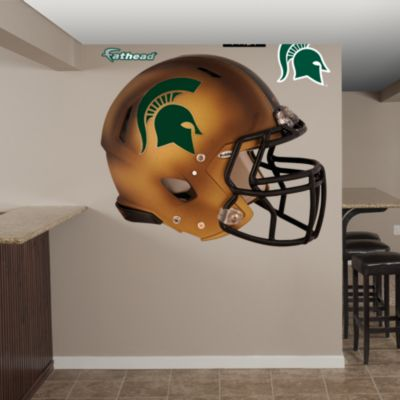 Michigan State Spartans Pro Combat Helmet Fathead Wall Decal