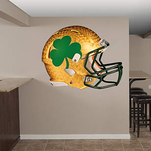 Notre Dame Fighting Irish: Shamrock Helmet
