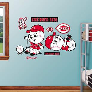 Cincinnati Reds Mascot - Rookie League