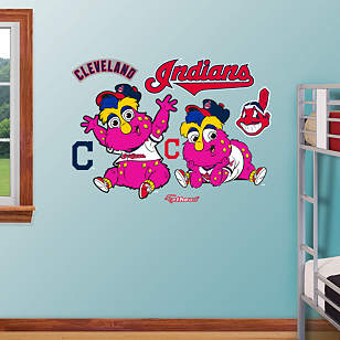 Cleveland Indians Baby Mascot