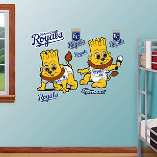 Kansas City Royals Baby Mascot