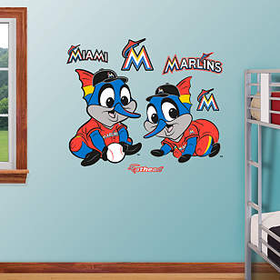 Miami Marlins Baby Mascot