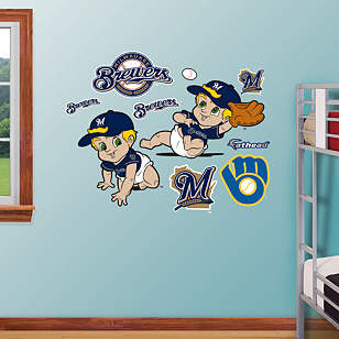 Milwaukee Brewers Baby Mascot