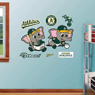 Oakland Athletics Baby Mascot