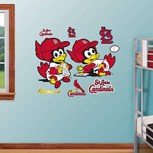 St. Louis Cardinals Baby Mascot
