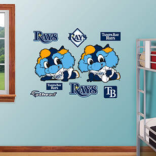 Tampa Bay Rays Mascot - Rookie League