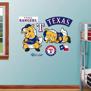 Texas Rangers Mascot - Rookie League
