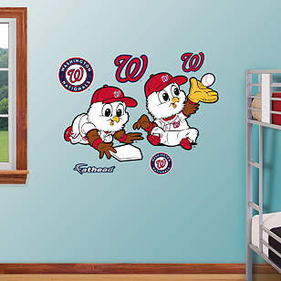 Washington Nationals Baby Mascot