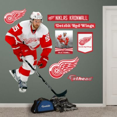 Henrik Zetterberg - Captain Fathead Wall Decal
