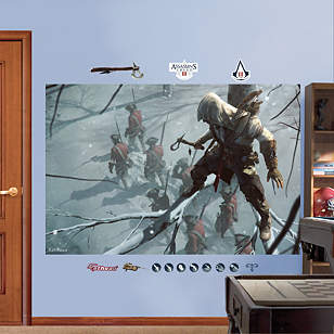 Sneak Attack Mural: Assassin's Creed III
