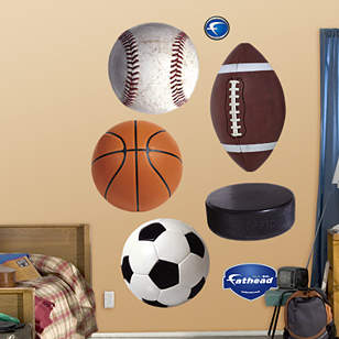 Assorted Sports Ball Graphics