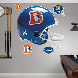 Denver Broncos Throwback Helmet