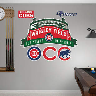 Wrigley Field 100th Anniversary Logo