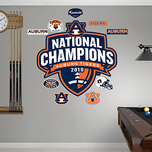 Auburn Tigers 2010 National Champions Logo