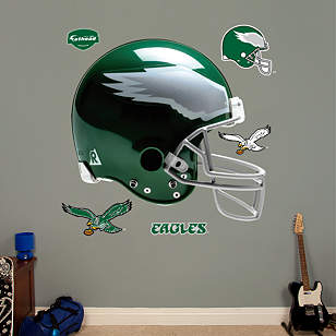Philadelphia Eagles Throwback Helmet