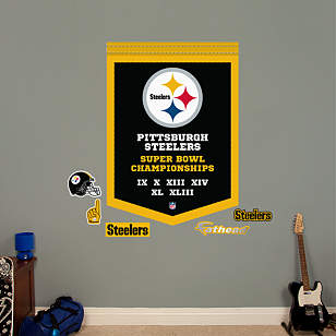 Pittsburgh Steelers Super Bowl Champions Banner