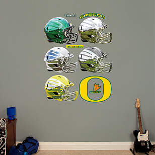 Oregon Ducks Helmet Collection