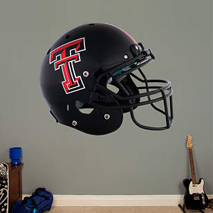 Texas Tech Red Raiders Black Helmet