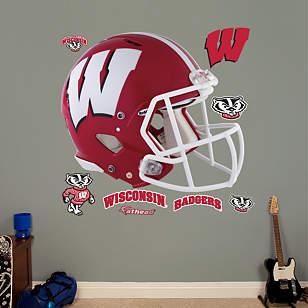 Wisconsin Badgers Red Helmet