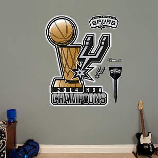 San Antonio Spurs 2014 NBA Champions Logo