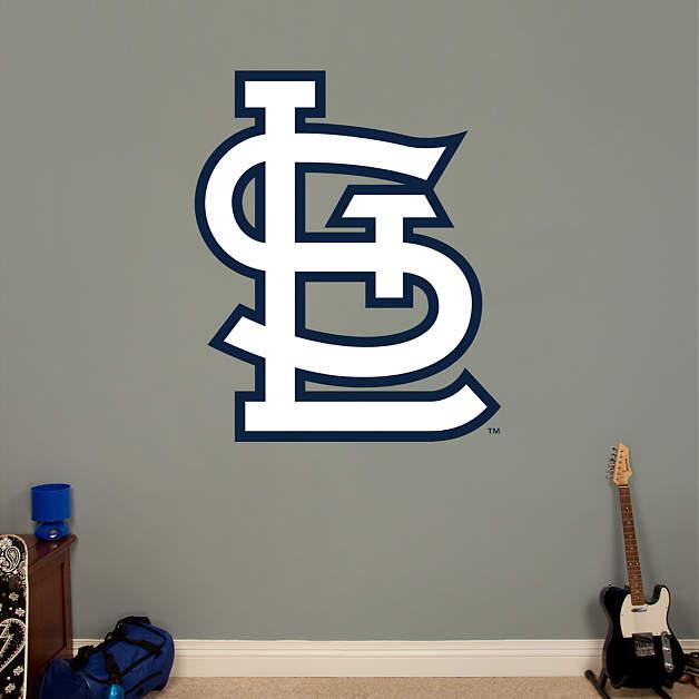 st louis cardinals alternate logo fathead wall decal. Black Bedroom Furniture Sets. Home Design Ideas