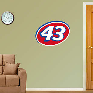 No. 43 Logo - Fathead Jr.