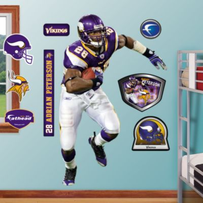 Adrian Peterson Running Back Fathead Wall Decal