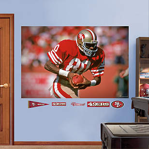 Jerry Rice In Your Face Mural