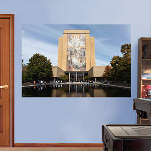 Notre Dame - Hesburgh Library Mural