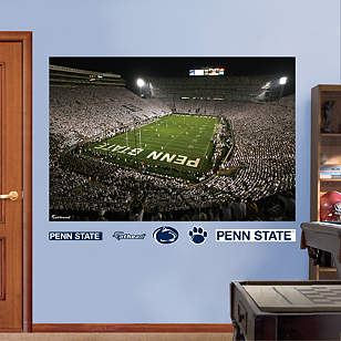 Penn State - Beaver Stadium White Out Mural