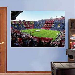 FC Barcelona Stadium Mural