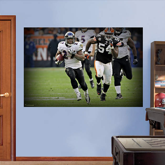 Shop baltimore ravens wall decals graphics fathead nfl - Lecteur blue ray mural ...