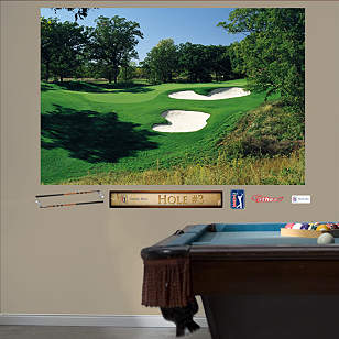 PGA TOUR TPC Deere Run Hole 3 Mural