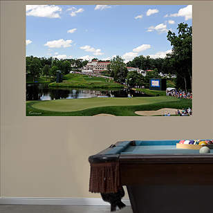 PGA TOUR Congressional Country Club Hole 10 Mural