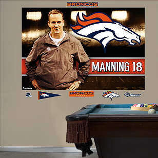 Peyton Manning - Bound for Denver Mural