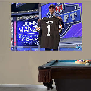 Johnny Manziel Draft Day Mural