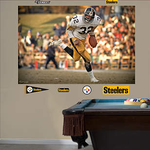 Franco Harris In Your Face Mural