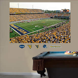 West Virginia Mountaineers - Milan Puskar Stadium Mural